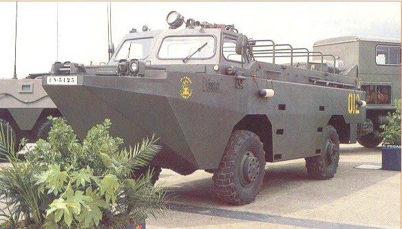 infanteria - BMR-600  y Anfibio PEGASO en la Armada de México Pegaso-02