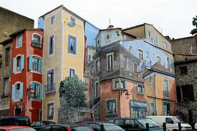 لوحات جدارية ابداعية Wall-drawings25