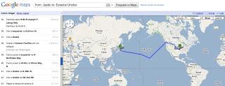 (Inédito) Google Maps mostra como ir do Japão aos Estados Unidos... Googlemaps_humor_1