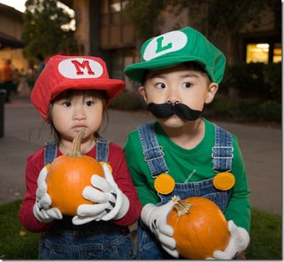 Cosplay divers Mario-kids-cosplay