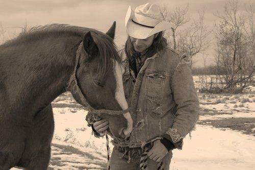 Najbolji prijatelj Man-and-his-horse