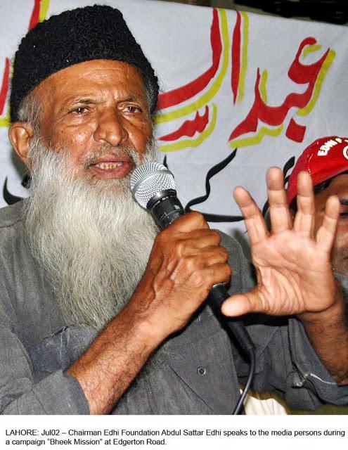 Abdul Sattar Edhi  -  A world popular Social Worker Edhi-720