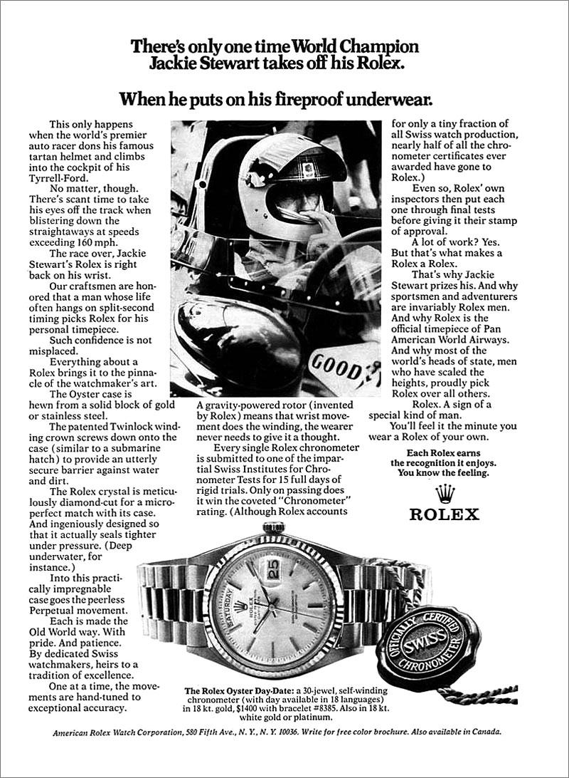 Una cesta llena de Rolex - Página 2 Jackie-Stewart-Rolex