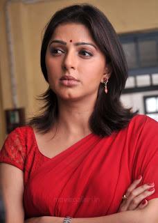 Bomika Chawla Indian Actress Bhumika_chawla_saree_thakita_thakita_05