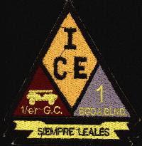 Historia y descripción del I.C.E. (Primer Cuerpo del Ejercito) Sedena1GC