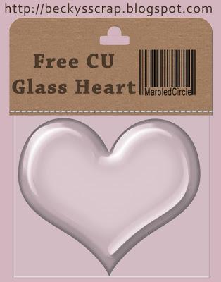 Glass Heart - By: Beckys Scraps Cughpreview