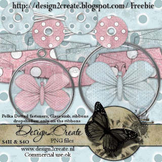 Ribbons & Fastners - By: Design2Creat Freebie-25-5