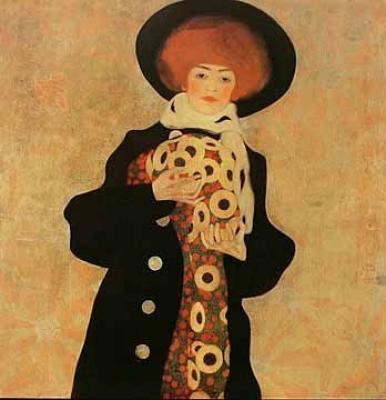 Egon Schiele, (1890 - 1918) Gerti-Egon-Schiele-163242