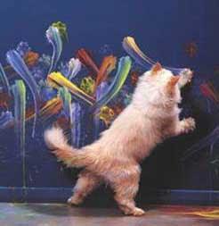 Duda transcendental - Página 3 Gato-pintor