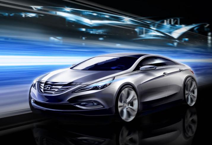 [Présentation] Le design par Hyundai 2011-Hyundai-Sonata-Sketch-1