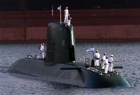 الغواصات موضوع شامل متكامل ومرجع للمنتدي  - صفحة 5 Israeli_Dolphin-class_submarine_in_Suez_Canal