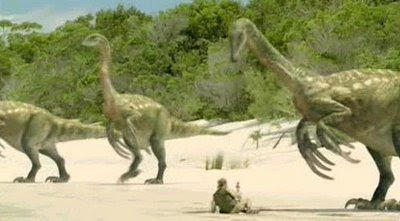Papouasie, Dinosaures et témoignages… Therizinosaurus