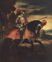 الرسام الايطالي العالمي تييتان ومجموعه من لوحاته Titian-%5DpokTiziano-Vecellio-Emperor-Charles-V-at-Muhlberg