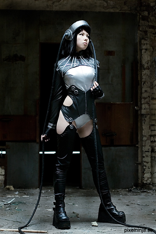 Cosplay Ghost in the Shell Motoko3
