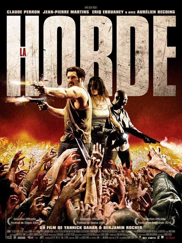 Genero Zombie La-horde-affiche
