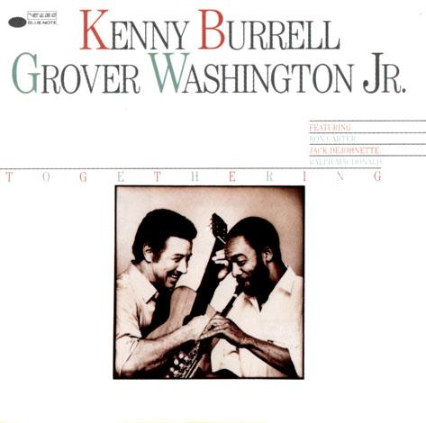 Kenny Burrell KB_Togethering_Front