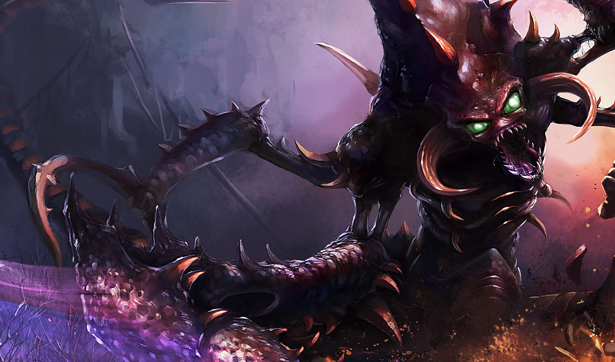 P.O League Of Legends Champs And Skins Cho%27gath
