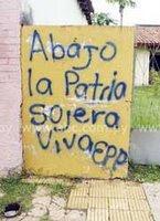 [Paraguay] EPP (Ejército del Pueblo Paraguayo) Pintata-EPP