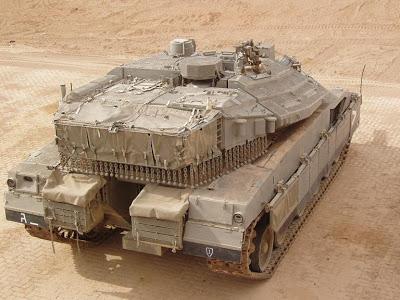 الصناعات الحربية الاسرائيلية MerkavaIVCheckSix