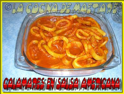 Calamares en salsa americana CIMG9378
