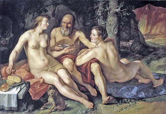Hendrick Goltzius 1558-1617 800px-Lot_and_his_Daughters-1-