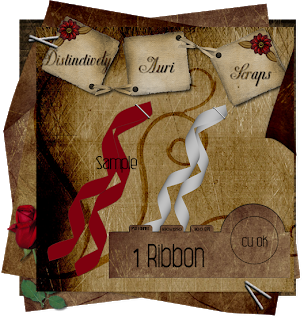 Ribbon - By: Distinctively Auri Scraps DA_CURibbonPreview
