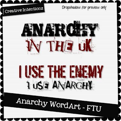 Anarchy WordArt - CU CIZ-AnarchyWordArt
