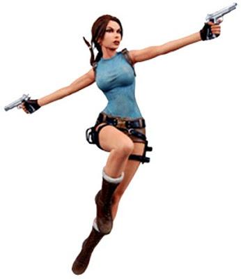 Action Figures 7in-Lara-Croft