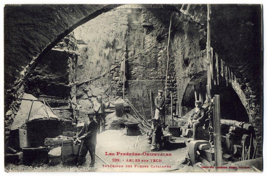 """""""Ferarios"""": el arte de la forja del hierro en el románico. - Página 2 Francia_forja_catalana_1917"""