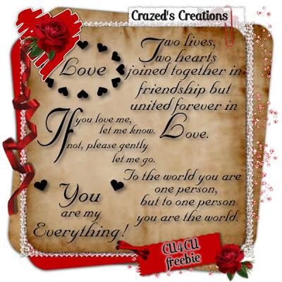 CU4CU Word Art Freebie by Crazed Crazeds_LoveWordArtCU