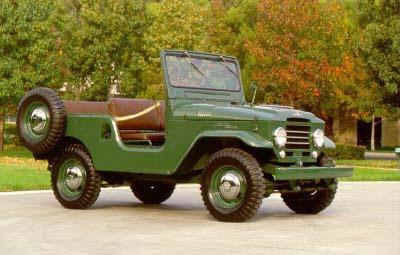 """Uma lenda """" Land Cruiser (Toyota Bandeirantes) - o Indestrutível """" Landcruiser-1961"""