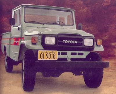 """Uma lenda """" Land Cruiser (Toyota Bandeirantes) - o Indestrutível """" Bandeirante-90-1"""