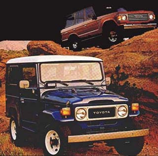 """Uma lenda """" Land Cruiser (Toyota Bandeirantes) - o Indestrutível """" Landcruiser-1983-anun"""