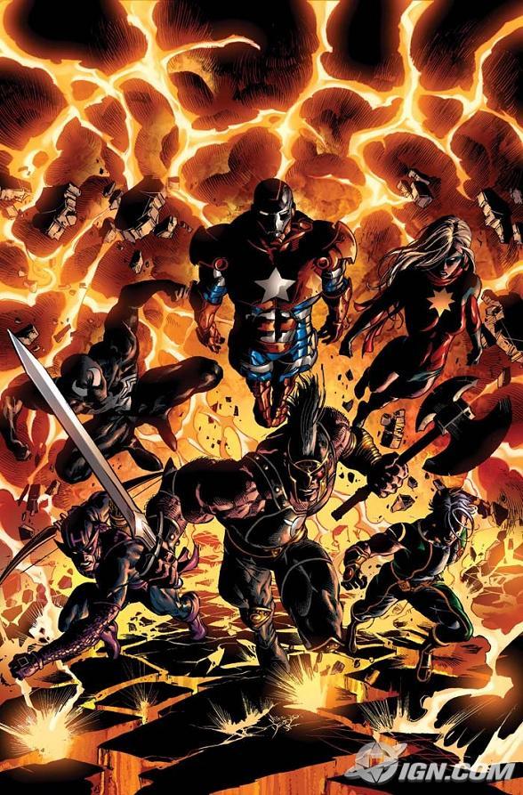 Avis/critiques Comics Dark-avengers-2-cover