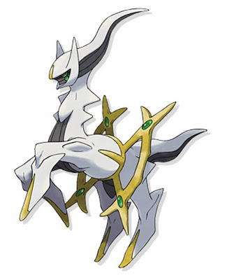 Thần thoại pokemon Arceus