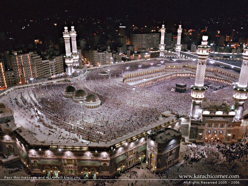 Foto islame te tjera - Faqe 3 Makkah_in_nigh