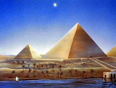 أهرام مصر.. EgyptianPyramidsArt2