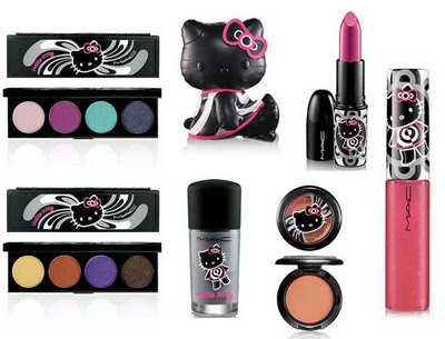 Maquillaje de Hello Kitty 000000000