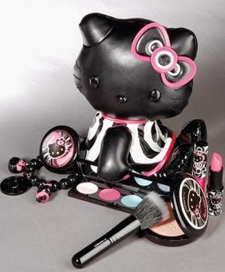 Maquillaje de Hello Kitty 000