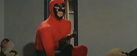 Superargo, el hombre enmascarado- SUPERARGO CONTRA DIABOLICUS- 1966, Nick Nostro ACCION