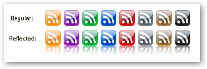 Những bộ RSS Feed Icon tuyệt đẹp RF09