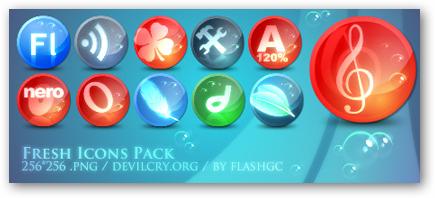 Những bộ RSS Feed Icon tuyệt đẹp RF10