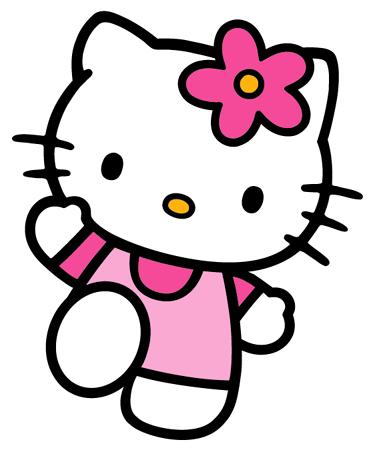 احلى شخصية كرتونية  Hello-kitty