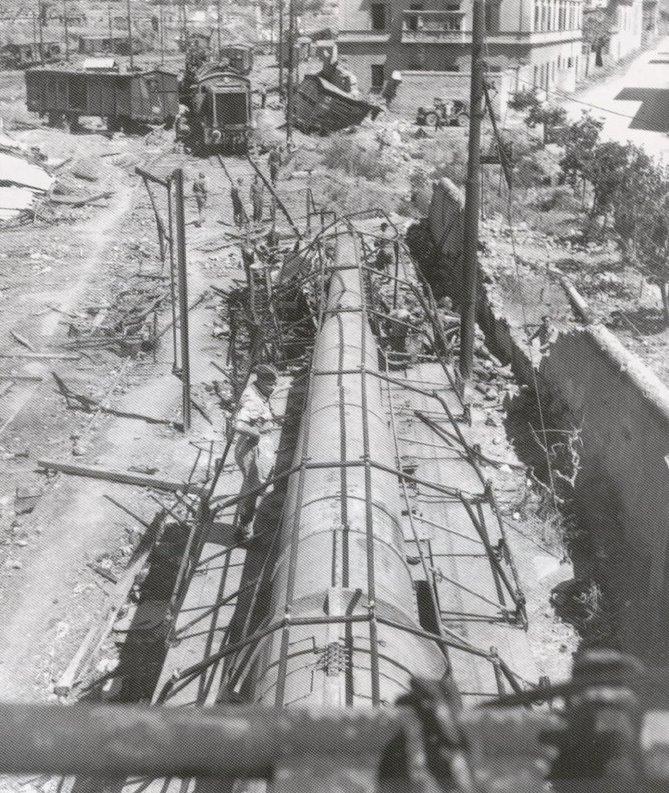 Topčina na RI kolodvoru (1945.) K5%2Blocomotora%2BHASM