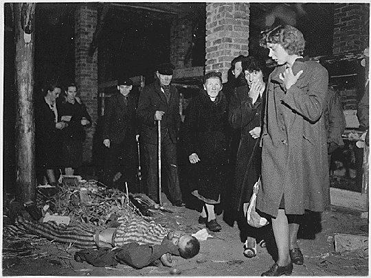 photos des camps de la mort, des ghettos, des prisonniers, des gardiens... Wobbelin