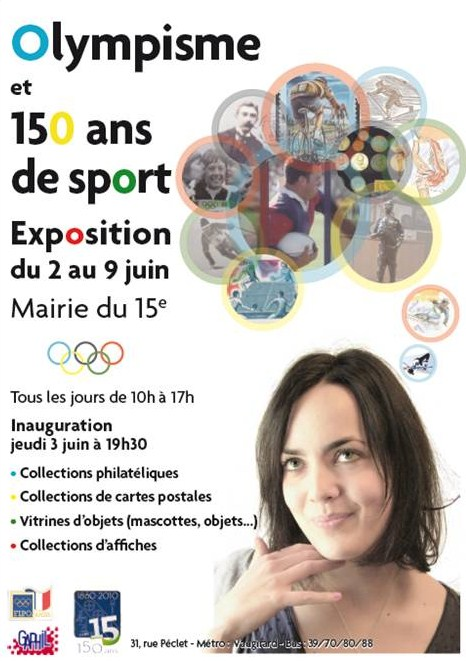 Exposition Olympisme & Sport à Paris 15e Expo_15eme