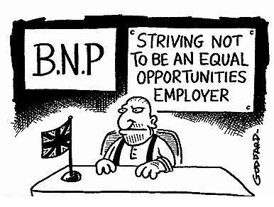 BNP forced to admit non-whites Bnp