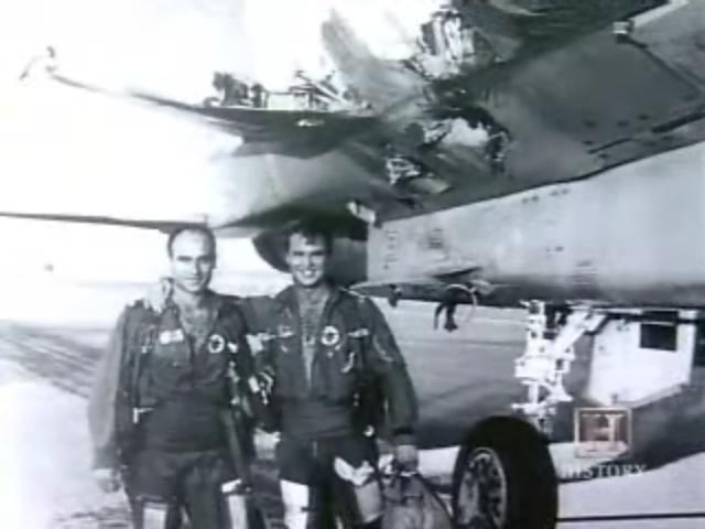 F-15 Sletio bez desnog krila F15-1