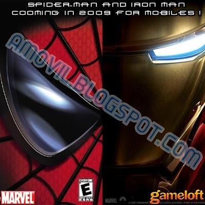Gameloft Presenta Spider-Man & Iron Man Para El 2009 Xddddddd