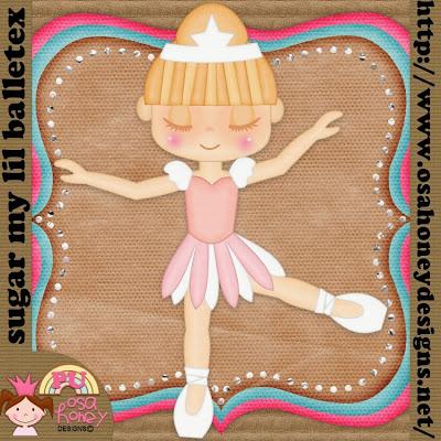 {Kits Digitais} Balé, Bailarina, Angelina Ballerina - Página 3 PREV